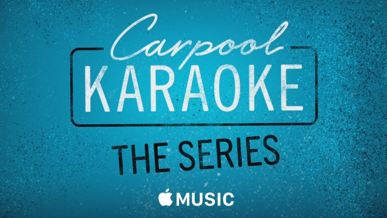 Carpool Karaoke: The Series Header